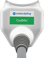 CoolMini CoolSculpting for armpit fat, double chin, and knees