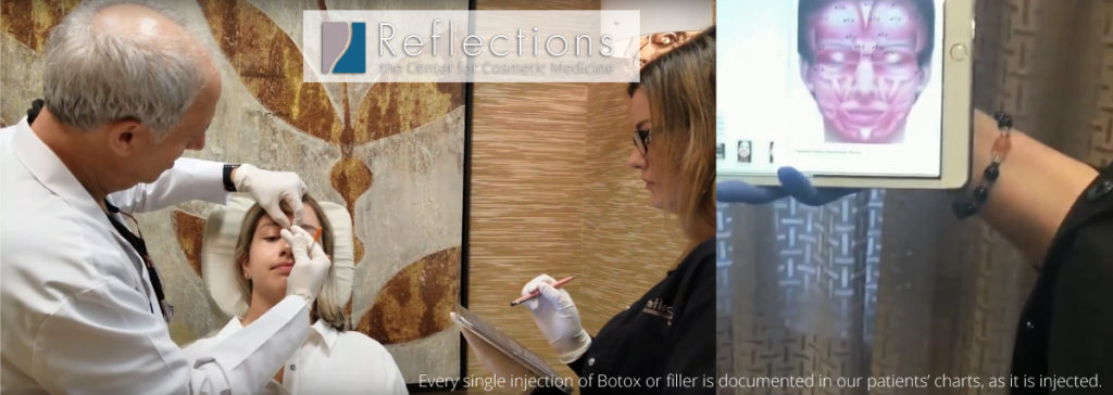 Nurse Tracking Botox in Patient's Chart